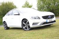USED 2014 14 VOLVO S60 1.6 D2 [115] R DESIGN Lux 4dr Powershift HEATED LEATHER ~ LOW ROAD TAX ~ FULL MOT ~ GENUINE 9,000 MILES