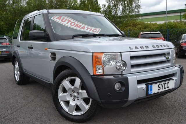USED 2008 08 LAND ROVER DISCOVERY 2.7 Td V6 HSE 5dr Auto ~ Hybrid TV ~ 6 Months Warranty HYBRID TV ~ 12 MONTHS MOT ~ 6 MONTHS WARRANTY ~ 6 MONTHS BREAKDOWN COVER