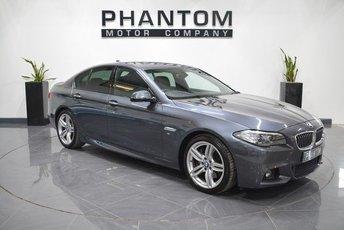 2016 BMW 5 SERIES 3.0 530D M SPORT 4d AUTO 255 BHP £18490.00