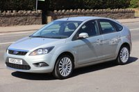 USED 2010 10 FORD FOCUS 1.8 TITANIUM 5d 125 BHP +++ FREE 6 months Autoguard Warranty included in screen price +++