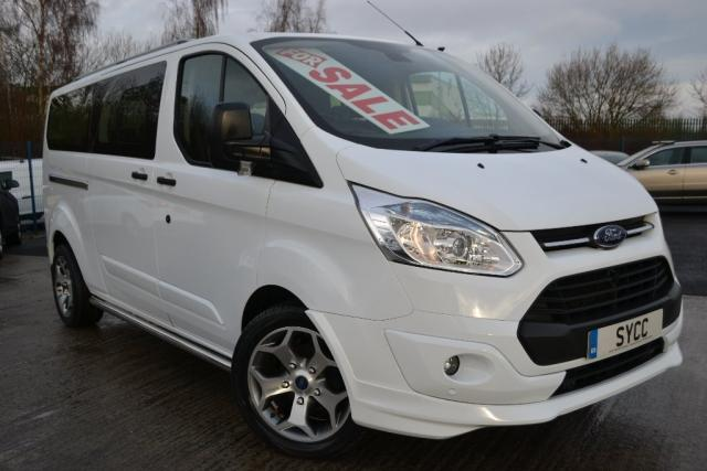 2015 65 FORD TOURNEO CUSTOM 2.2 TOURNEO CUSTOM 300L ZETEC TDCI 9 SEAT