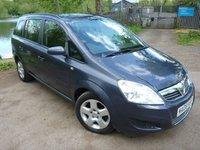 2008 VAUXHALL ZAFIRA 1.9 EXCLUSIV CDTI 5d AUTO 120 BHP £2000.00