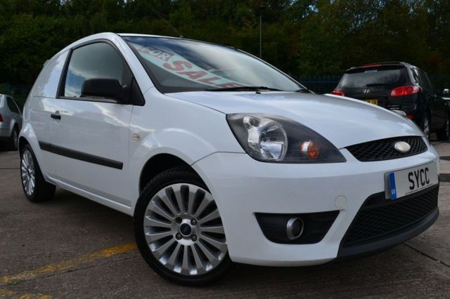2008 08 FORD FIESTA 1.6 TDCI SPORTS VAN 1d 89 BHP