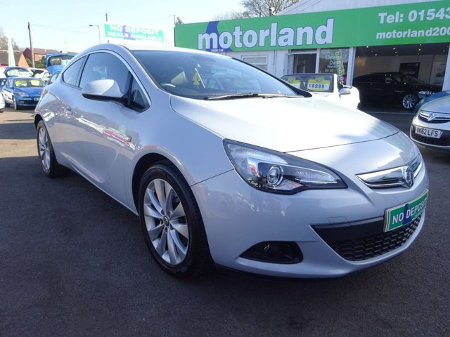 USED 2014 14 VAUXHALL ASTRA 1.4 GTC SRI S/S 3d 138 BHP ***JUST ARRIVED...TEST DRIVE TODAY***