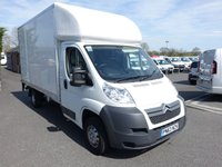 2013 CITROEN RELAY LWB Luton With Tailift 2.2HDI 130BHP £8995.00