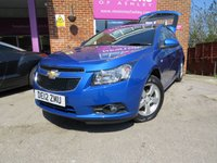 2012 CHEVROLET CRUZE 1.6 LT 5d AUTO 124 BHP £5495.00