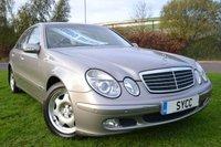 2003 MERCEDES-BENZ E CLASS 2.7 E270 CDI Classic 4dr Tip Auto £3599.00