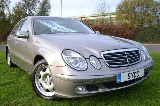 USED 2003 03 MERCEDES-BENZ E CLASS 2.7 E270 CDI Classic 4dr Tip Auto