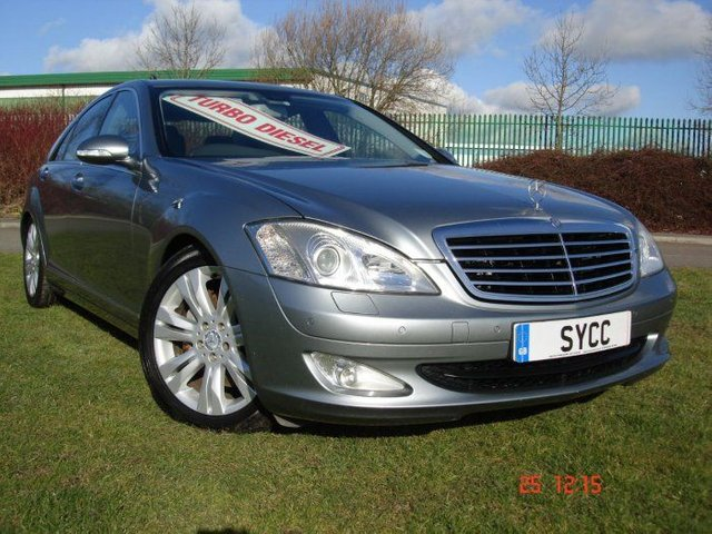 USED 2009 09 MERCEDES-BENZ S-CLASS 3.0 S320 CDi 4dr 7G Auto