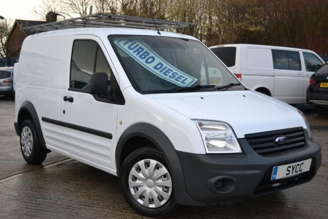 2013 63 FORD TRANSIT CONNECT 1.8 Low Roof Van TDCi 90ps