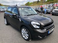 USED 2014 64 MINI COUNTRYMAN 1.6 COOPER S 5d AUTO 184 BHP Automatic, full panoramic glass sunroof, leather++ under 12,000 miles