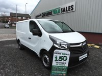 2015 VAUXHALL VIVARO 1.6 2700 L1H1 CDTI SWB SAVE WITH NO VAT TO PAY !!!!!!!!!!!!!!!!!!!!!!!!! £9995.00