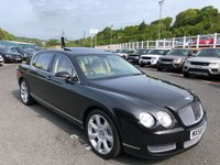 2008 BENTLEY CONTINENTAL FLYING SPUR 6.0 FLYING SPUR 5 SEATS 4d AUTO 550 BHP £38750.00