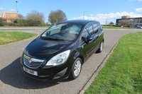 2011 VAUXHALL MERIVA 1.4 SE Alloys,Air Con,Cruise Control.Half Leather £3995.00