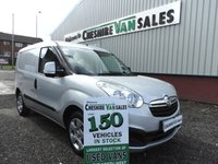 2013 VAUXHALL COMBO VAN 1.2 2000 L1H1 CDTI SPORTIVE  90 BHP 1 OWNER AIR CON ELECTRIC WINDOWS £3995.00