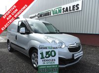 USED 2013 13 VAUXHALL COMBO VAN 1.2 2000 L1H1 CDTI SPORTIVE  90 BHP 1 OWNER AIR CON ELECTRIC WINDOWS 1 OWNER FROM NEW  AIR CON ELECTRIC WINDOWS COLOUR CODED