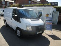2012 FORD TRANSIT 2.2 TDCI, 300, SHORT WHEEL BASE, LOW ROOF, AIR CON, CHUBB LOCKS ON REAR DOORS, REAR SENSORS, SHELVING FITTED £SOLD