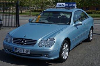 2004 MERCEDES-BENZ CLK 2.6 CLK240 ELEGANCE 2d AUTO 170 BHP £3995.00