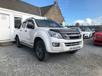 USED 2016 65 ISUZU D-MAX Blade Double Cab 4x4 2.5TD Auto ( 163 bhp ) One Owner Top Spec Example Pearl White Paint Rare Automatic