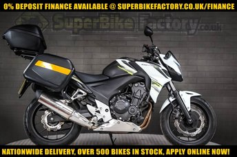2016 HONDA CB500 FA-F  £3591.00