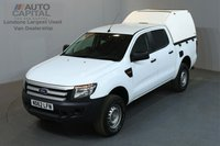 USED 2013 62 FORD RANGER 2.2 XL 4X4 148 BHP A/C 2 OWNER FROM NEW, SERVICE HISTORY
