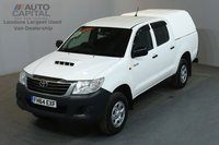 USED 2015 64 TOYOTA HI-LUX 2.5 ACTIVE 4X4 142 BHP MWB AIR CON ONE OWNER, SERVICE HISTORY