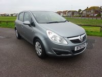 2010 VAUXHALL CORSA 1.2 EXCLUSIV A/C 5d 83 BHP 2 OWNERS £3995.00