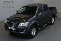 USED 2014 64 TOYOTA HI-LUX 3.0 INVINCIBLE 4X4 D-4D 169 BHP A/C SAT NAV LEATHER SEATS ONE OWNER FROM NEW, SERVICE HISTORY