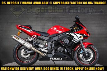 2004 YAMAHA R6 600CC £2791.00