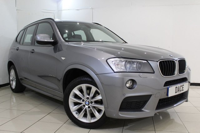 View our 2013 63 BMW X3 2.0 XDRIVE20D M SPORT 5DR AUTOMATIC 181 BHP