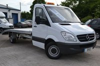 2013 MERCEDES-BENZ SPRINTER  2.1 3.5t 313 CDI LWB Recovery Truck £11999.00