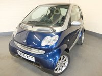 USED 2006 06 SMART FORTWO 0.7 GRANDSTYLE 2d AUTO 61 BHP