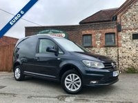 USED 2017 17 VOLKSWAGEN CADDY 2.0 C20 TDI HIGHLINE 1d 101 BHP Only 8,000 Miles, Top Spec Model, Air Conditioning, Finance Arranged.