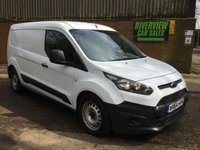 2014 FORD TRANSIT CONNECT 1.6 240 LONG WHEEL BASE, LOW MILES, AIR CON,  £8650.00