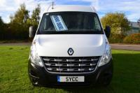 USED 2013 63 RENAULT MASTER 2.3 MM33dCi 125 Medium Roof Van