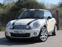 2012 MINI HATCH ONE 1.6 ONE D 3d 90 BHP £6995.00