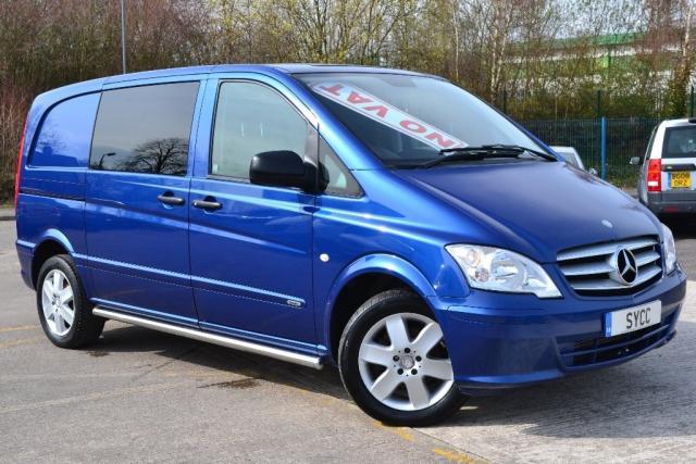 2013 13 MERCEDES-BENZ VITO 2.1 116CDI 163BHP Sport Dualiner Window Van