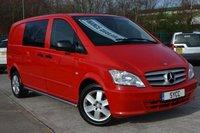 2012 MERCEDES-BENZ VITO 2.1 116CDI Dualiner Sport 163 BHP £11499.00