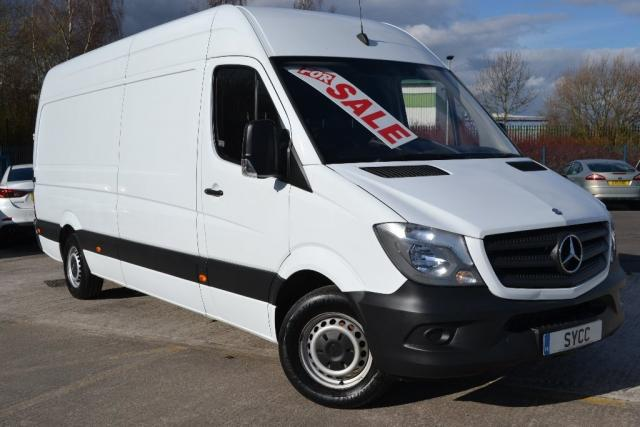 2014 14 MERCEDES-BENZ SPRINTER 2.1 3.5t LWB High Roof Van