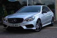 USED 2015 65 MERCEDES-BENZ E CLASS 3.0 E350 BLUETEC AMG NIGHT EDITION 4d 255 BHP