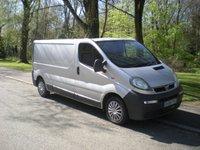 USED 2006 06 VAUXHALL VIVARO 1.9 2900 CDTI LWB 1d 100 BHP