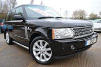 USED 2005 55 LAND ROVER RANGE ROVER 4.2 V8 Supercharged VOGUE SE 4dr Auto