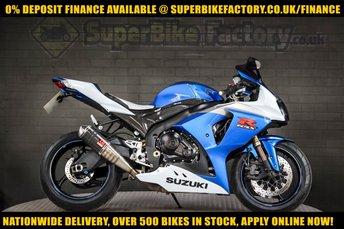 2010 10 SUZUKI GSXR1000 1000CC 0% DEPOSIT FINANCE AVAILABLE £5391.00