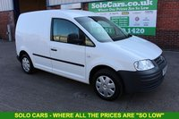 USED 2005 55 VOLKSWAGEN CADDY 1.9 C20 TDI SWB 1d 103 BHP +Light Use +Owner by Valeter.