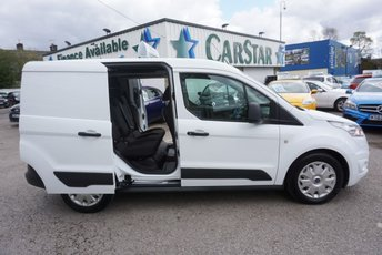 2014 FORD TRANSIT CONNECT 1.6 TDCI 220 L1 TREND CREWVAN ( AIR CON ) £8989.00