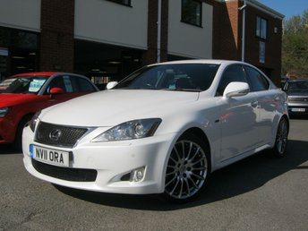 2011 LEXUS IS 2.5 250 F SPORT 4d AUTO 204 BHP £9995.00