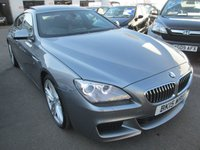 2015 BMW 6 SERIES 3.0 640D M SPORT GRAN COUPE 4d AUTOMATIC  309 BHP £27995.00