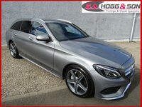 2015 MERCEDES-BENZ C CLASS 2.1 C220 BLUETEC AMG LINE 5dr AUTO 170 BHP **£30 PER YEAR ROAD TAX** £17995.00