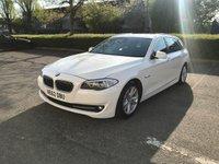 2012 BMW 5 SERIES 3.0 530D AC TOURING 5d AUTO 255 BHP £13995.00