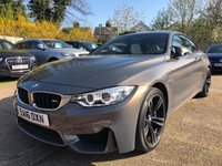 USED 2016 16 BMW 4 SERIES 3.0 M4 2dr AUTO 426 BHP Individual, Full BMW Service history, Sunroof.